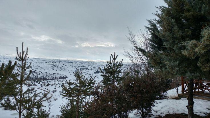 TURKEY-Bolu  #Gerede #kış #manzarası ❄⛄✌