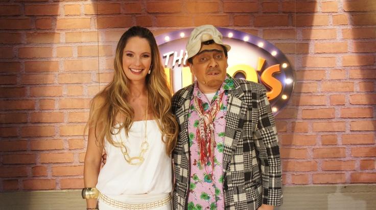 Claudia Bahamon en The Suso's Show.