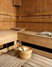 "Give yourself a hit of antioxidants by trying Strand's at-home treatment: Boil mineral water with a green tea or white tea bag, let the tea infuse the water and then freeze it into ice cubes to use instead of a toner. ""Saunas are also a big part of Swedish culture,"" says Strand. ""The dry, clean heat rids your body of toxins."" To get the effect of a sauna at home, Strand says to take a handful of rock salt and add a dash of olive oil and about 10 drops of pure eucalyptus oil. Rub it all over…"