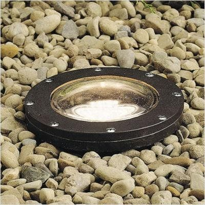 Kichler Lighting 15268AZ Small InGround Recessed Well Light, Architectural Bronze by Kichler. $181.08. Height: 8.25-Inch - Diameter: 7-Inch. From the Manufacturer                Finish: Architectural Bronze, Light Bulb:(1)75w PAR30LN Med 120v Halogen Smaller 7' diameter in-ground light designed for use with PAR20 and PAR30 lamps. Tempered glass lens, fully sealed for watertight outdoor use. Medium base porcelain socket. With adjustable aim assembly, 25 Degree angle, ...