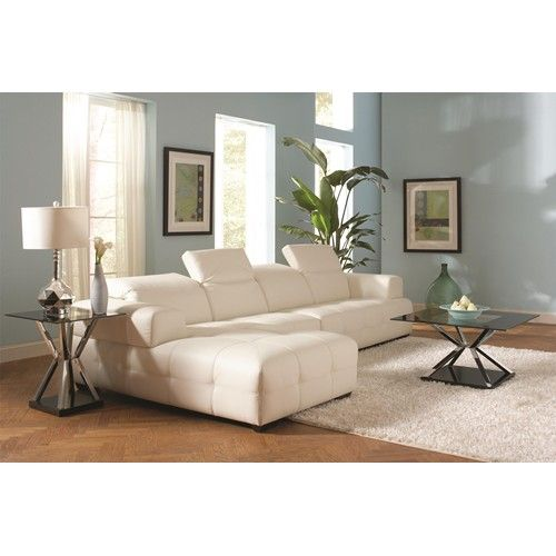 coaster darby sectional sofa with wide arms coaster fine furniture