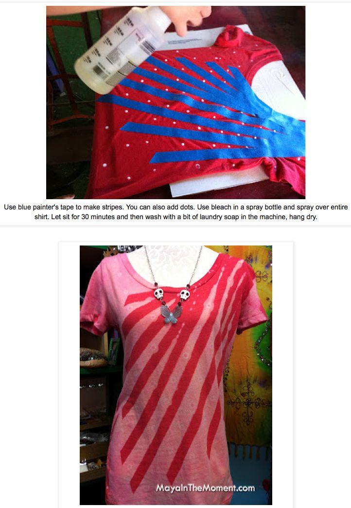 17 best ideas about bleach t shirts on pinterest bleach for Bleach dye shirt instructions