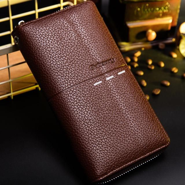 New Hand Bag Male Wallet PU Leather