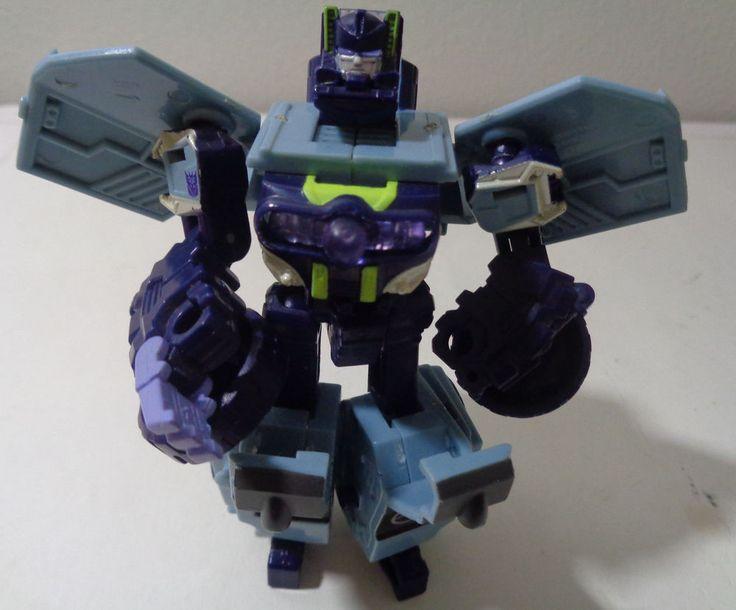 Transformers Cybertron Decpticon Scout Class Brushguard Action Figure 2005 #Hasbro