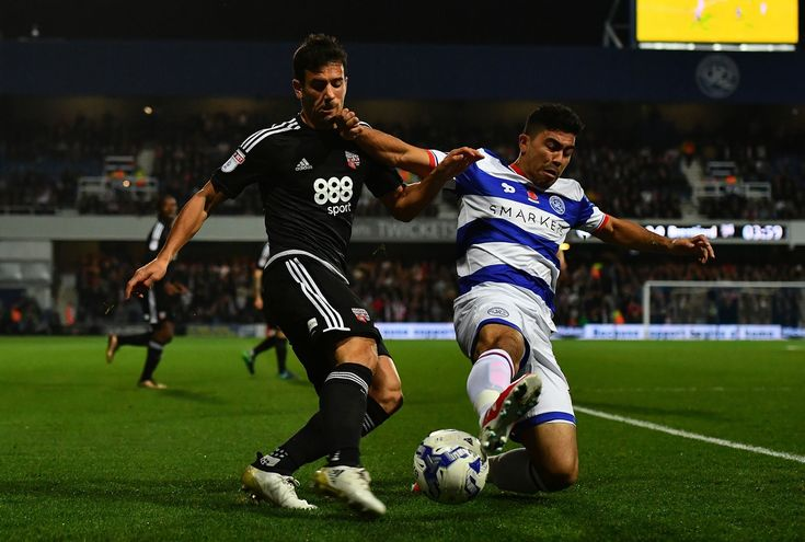 @QPR stopping the attack #9ine