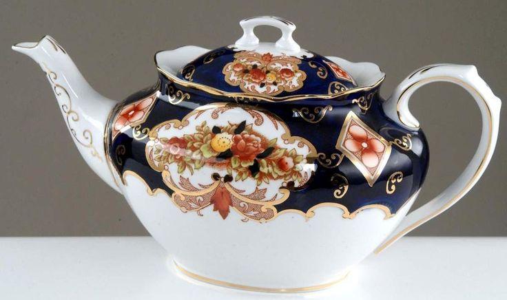 Royal Albert IMARI, Heirloom, Derby,Tea Pot, No reserve!
