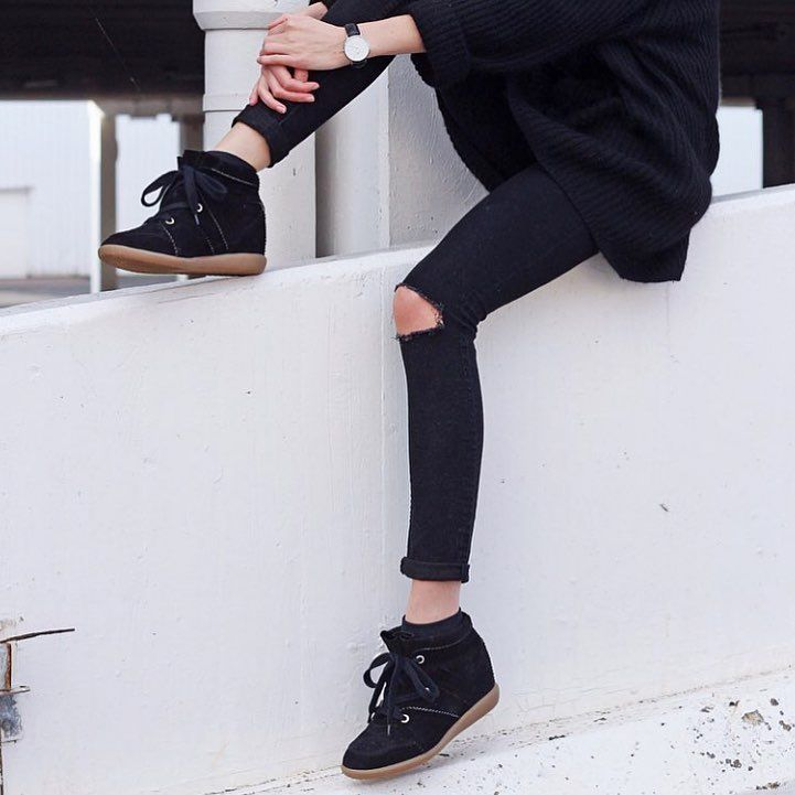 Isabel Marant Bobby sneakers at Nicolas