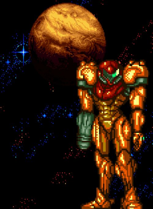 Samus - Super Metroid / SNES 1994