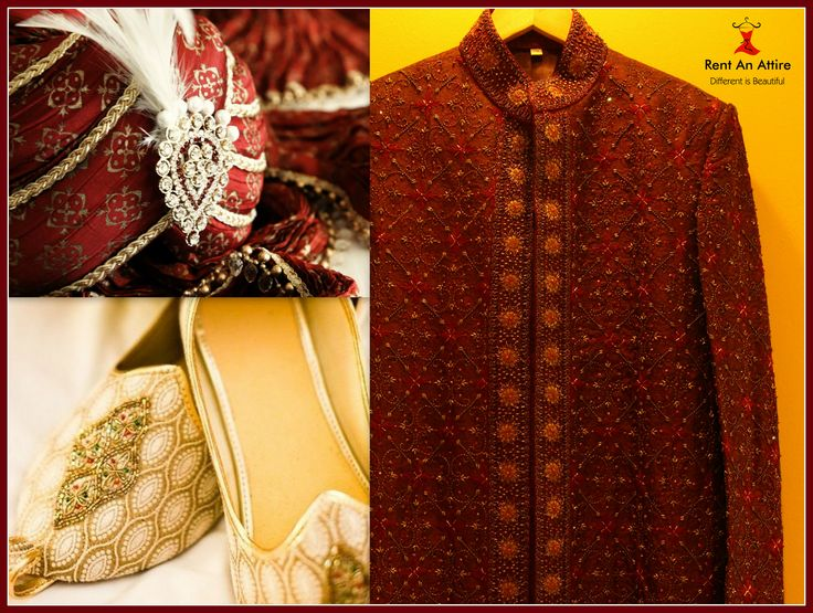 Grab this to be the Royal man on your Wedding day..! Our handpicked Sherwani designs beautifully manifest the richness of Indian tradition balanced with contemporary overtones, designs that weave together style and class for an inimitable look. Take a sneak peek at the Designer Sherwani collection..! Try it ♡ Book it ♡ Flaunt it
