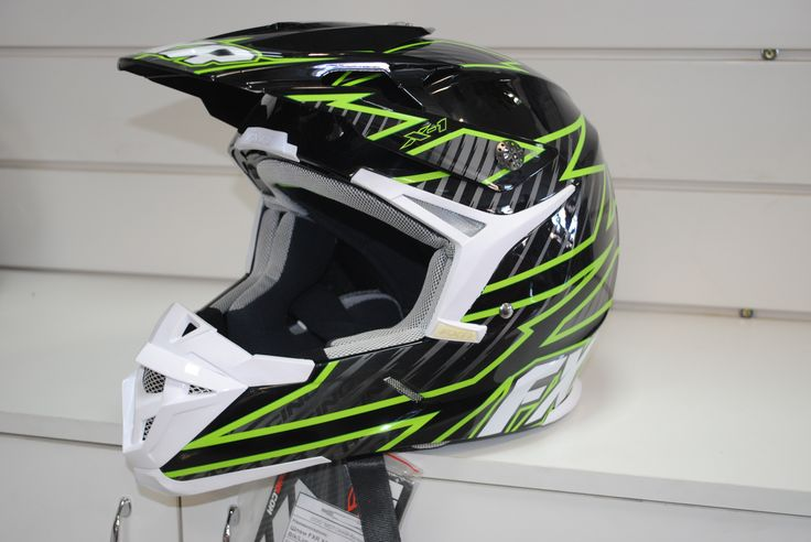 FXR X1 XL Цвет Blk/Lime 14422.70116, 13999 руб