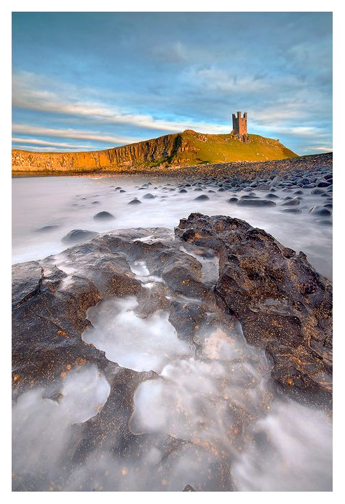 Dunstanburgh Castle, Northumberland, England - stop off at Craster too for the amazing smoked kippers.