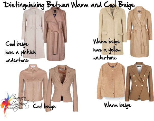 How to pick a warm or cool beige. Something I struggle with when online shopping!