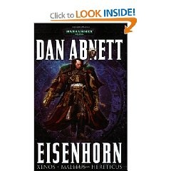 An amazing sci-fi book that takes place in the Warhammer 40k universe.