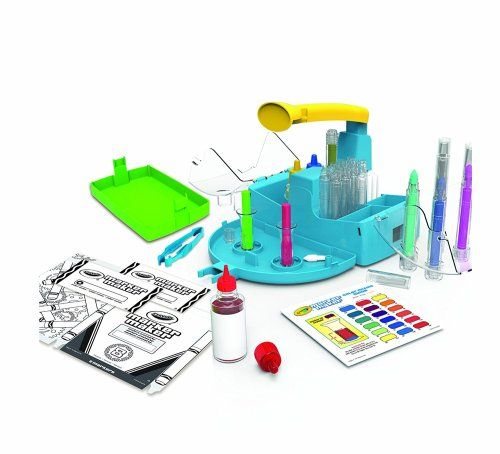 This Crayola Marker Maker gets fantastic reviews.  Younger kids may need some help from a parent, but kids love it!  They can create up to 16 markers and can even customize them with their own color combos. #shepicks Gifts for Girls