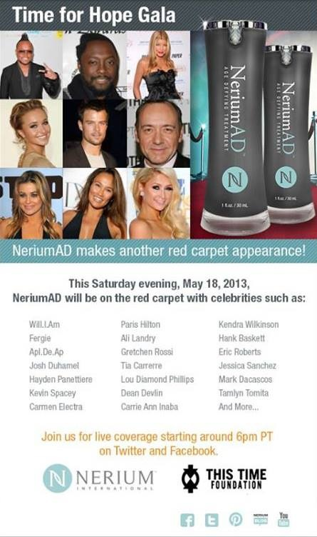 Why wait until the celebrities are all using this product? Join us in business now and let the celebrities do the advertising for you! #Nerium www.deannawestover,nerium.com