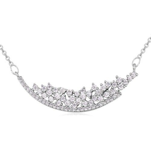 $9,2 Milky Way Swarovski crystal necklace - Yohanna Jewelry Wholesale. BEST PRICE: Directly in the jewelry factory. VAT-free shopping: Available, partners based in the European Union, only applies to EU tax identification number (UID). Exclusive design SWAROVSKI crystals and AAA Zircon crystal jewelry and men's stainless steel jewelry and high-quality stainless steel jewelry for couples sell in bulk to resellers! Please contact us.