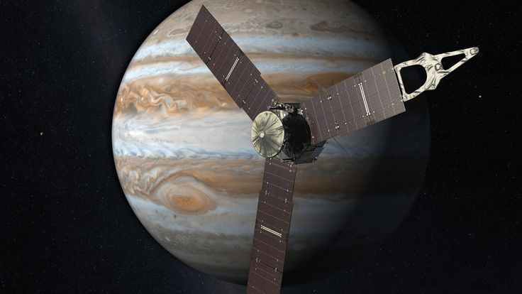 This Fourth of July, NASA's solar-powered Juno spacecraft will arrive at Jupiter after an almost five-year journey.
