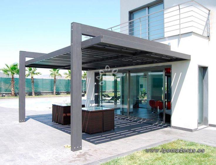 P rgolas de madera venta e instalaci n de p rgolas ipe for Cobertizo de madera de jardin contemporaneo