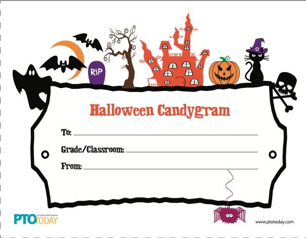 9 best School candy grams images on Pinterest Halloween crafts