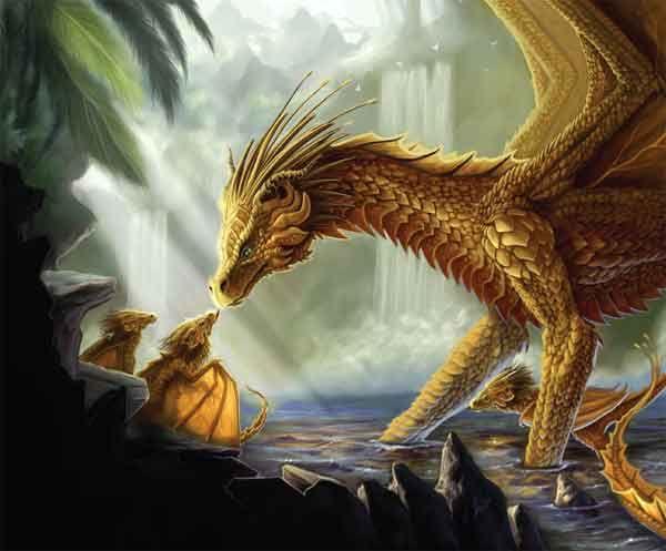 Golden Dragon, Nicolás Alejandro Peña    from DragonWorld