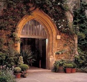 London  Garden Museum Wedding Venue Entrance picturesque entrance to your dream wedding! Contact us to make it happen