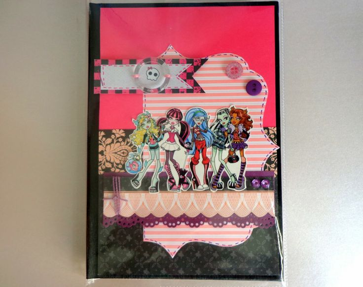 Monster High Scrapbooking