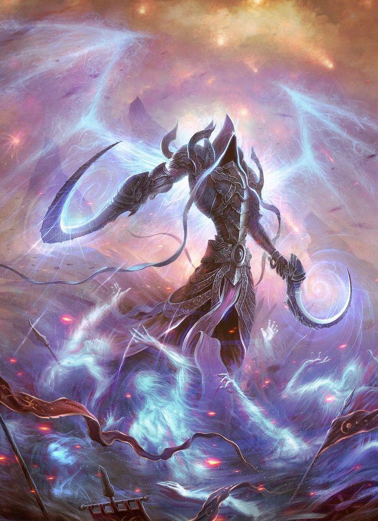 Malthael - Reaper of Souls. Angel from Diablo 3 game. By Alexandr Elichev