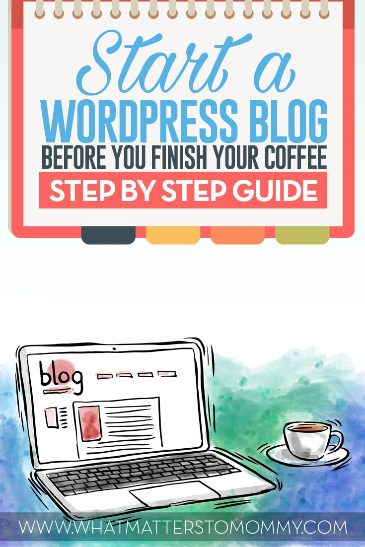 Start a blog and get a discount here!  Starting a blog doesn't have to be hard.  Check out this step by step guide.