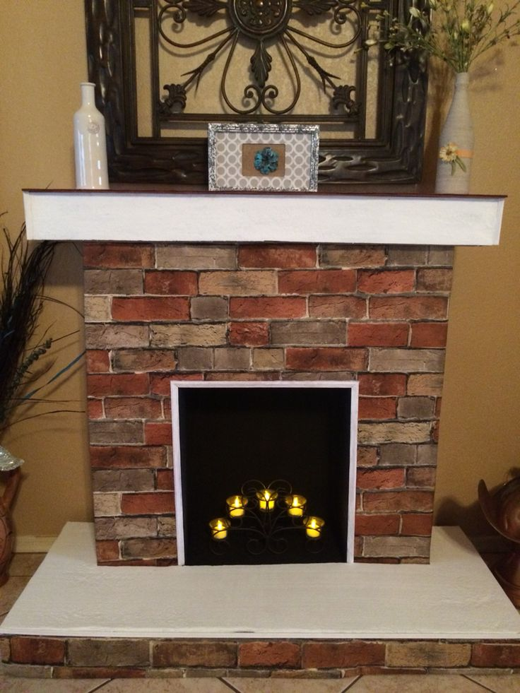 Fireplace Design diy cardboard fireplace : The 25+ best Cardboard fireplace ideas on Pinterest | Decorate ...