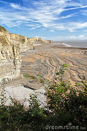 The cliffs at Southerndown, Vale of Glamorgan, Wales - the backdrop to many Dr. Who scenes!
