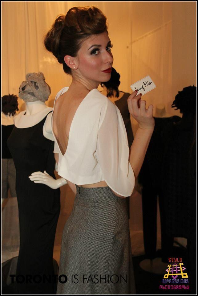 Art of Fashion Model: Olivia B.  www.orangemodels.ca