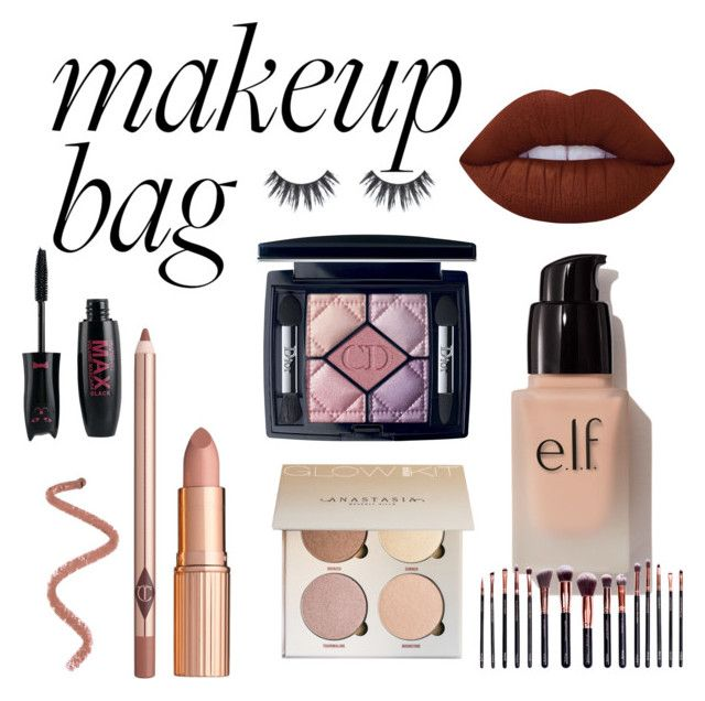 """""""Untitled #22"""" by sophieunderthestairs on Polyvore featuring beauty, Lime Crime, Christian Dior, e.l.f. and M.O.T.D Cosmetics"""