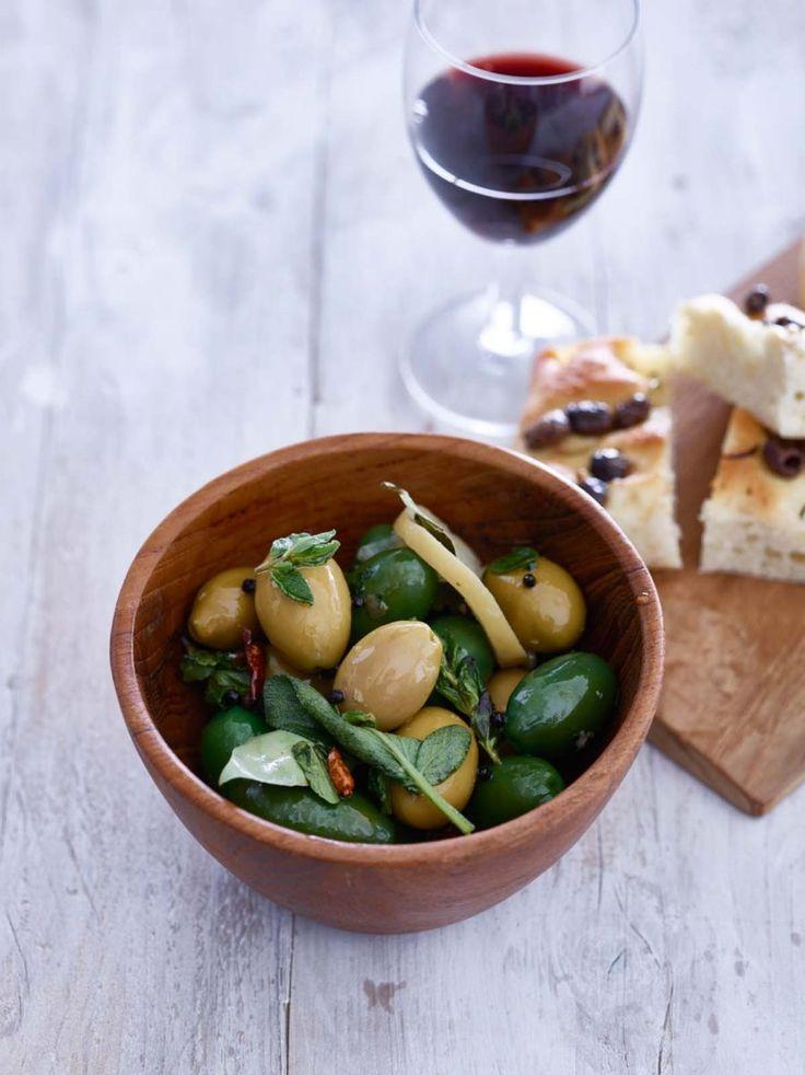 Gemarineerde olijven - Foodies