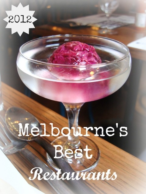 top 10 Melbourne Restaurants