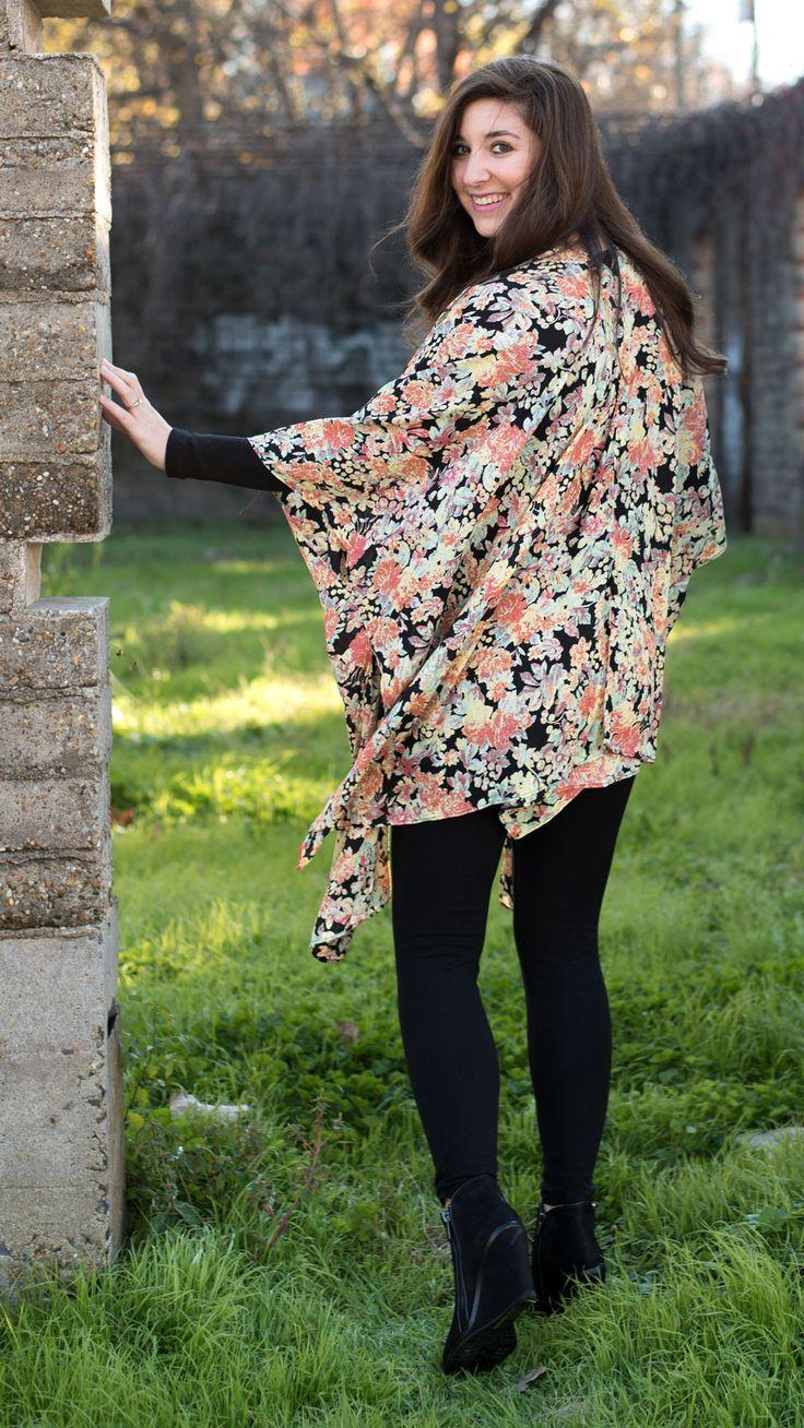 Wynonna Wildflower Kimono – I Do Declare Boutique #idodeclareboutique #kimono #floral #springkimono