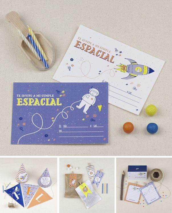 """Descargable Fiesta temática: """"Party Espacial"""" by PPStudio!"""