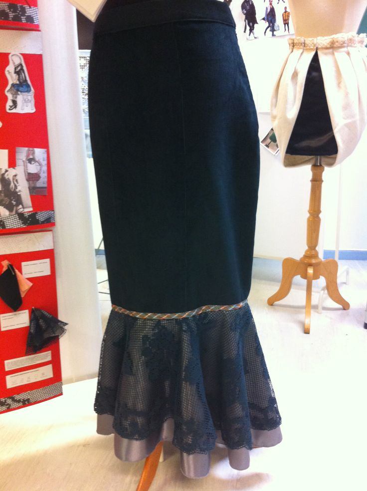 Punk + table cloth = skirt. by nina dirix.