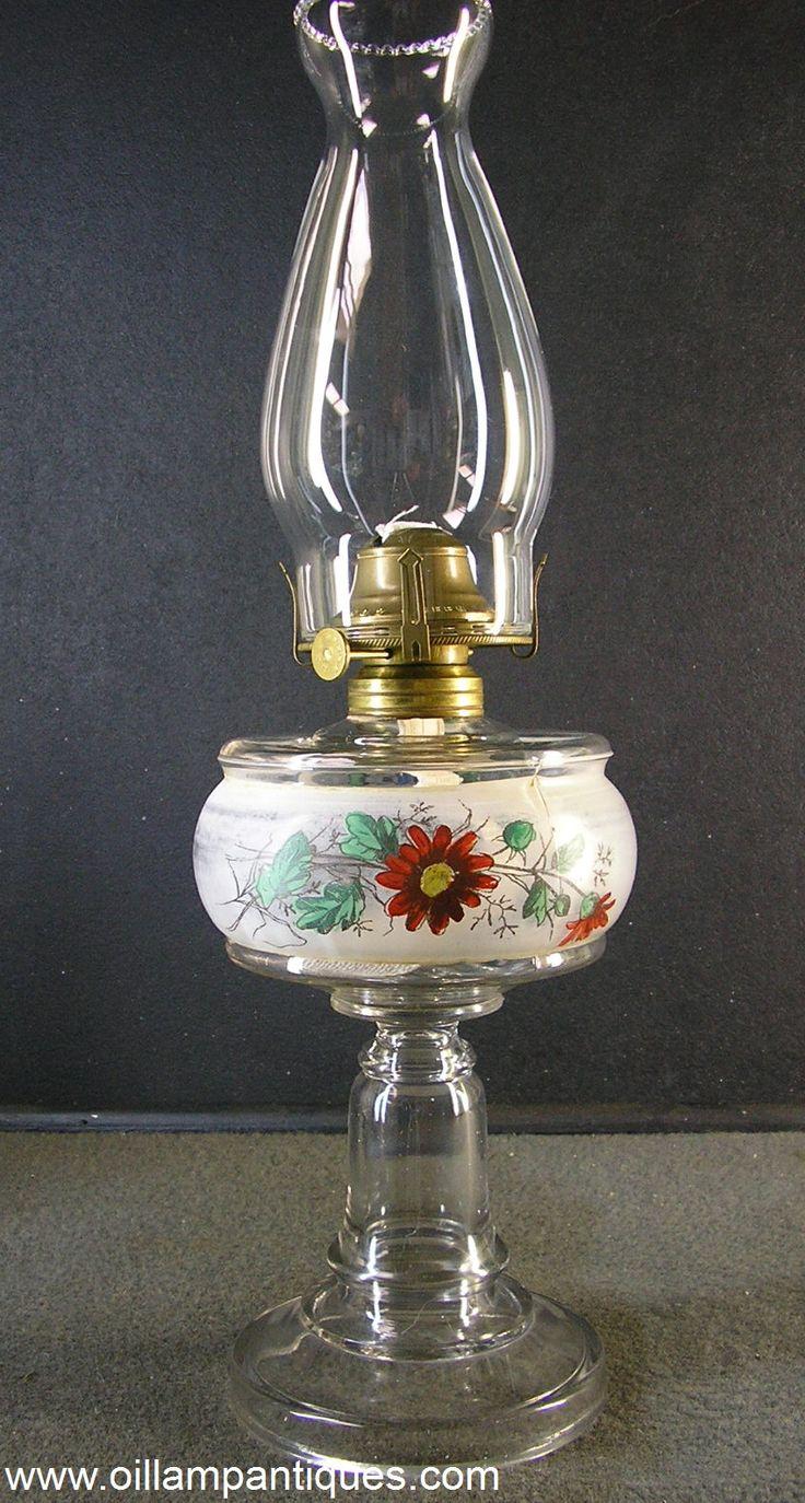 Vintage glass kerosene flare impossible