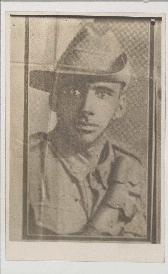 NSW servicemen portraits, 1918-19 - Ernest James Firth
