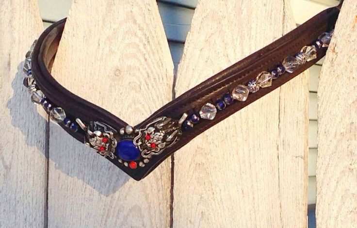 how to make beaded browbands