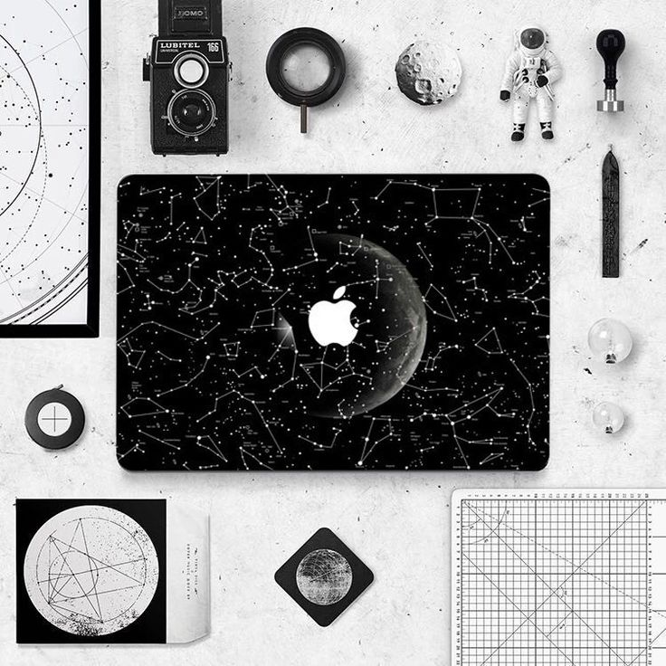 Macbook Decal Sticker - Constellations
