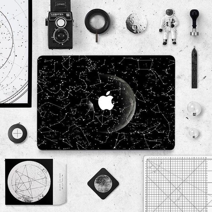 Macbook Sticker - Constellations