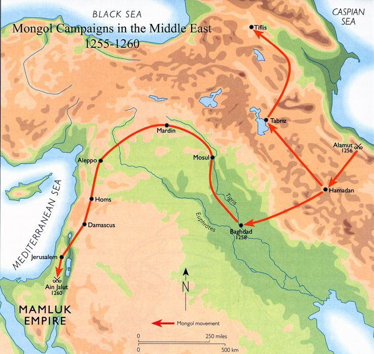 Today in Middle Eastern history: the Mongols sack Baghdad (1258)