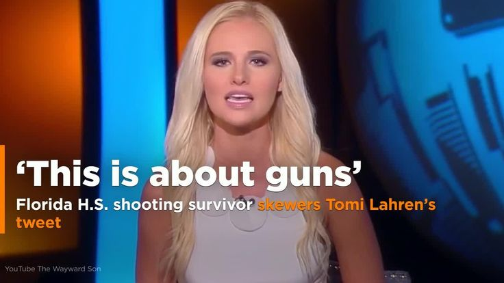 A Florida high school student who survived Wednesday's mass shooting spoke out about the horrifying experience in response to FOX News' Tomi Lahren's comments on gun control. Lahren, an outspoken conservative commentator, took to Twitter after the attack to voice her thoughts on the shooting