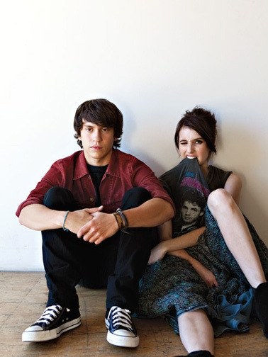 Keir Gilchrist and Emma Roberts in It's Kind of a Funny Story