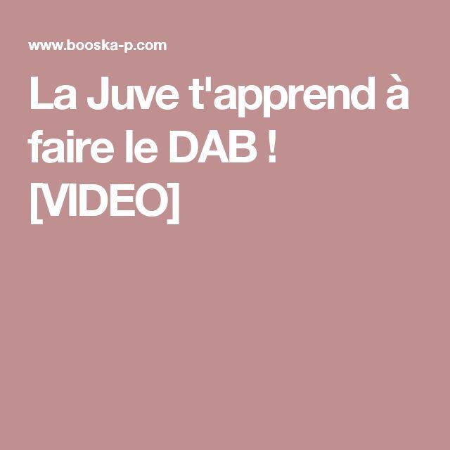 La Juve t'apprend à faire le DAB ! [VIDEO]