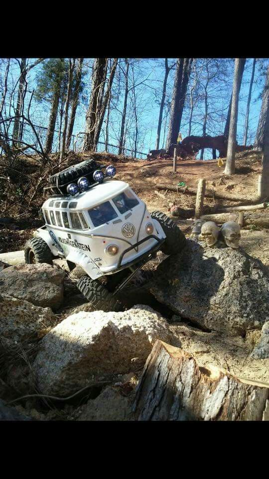 1/10 RC Crawler • VW Bus Body