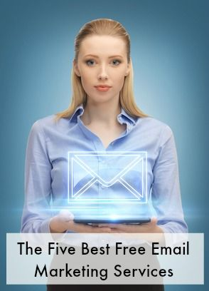 Who says email marketing has to be expensive? Here are 5 FREE email marketing services! via The Work at Home Woman