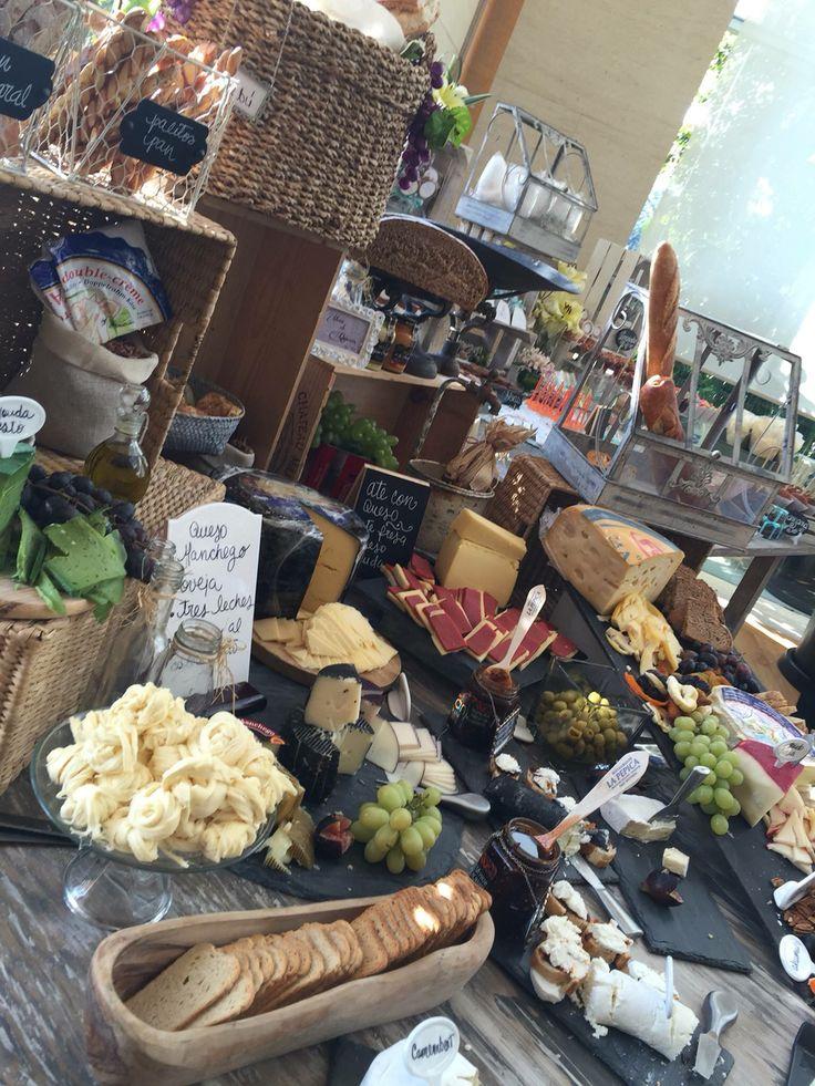 Mesa de quesos 2