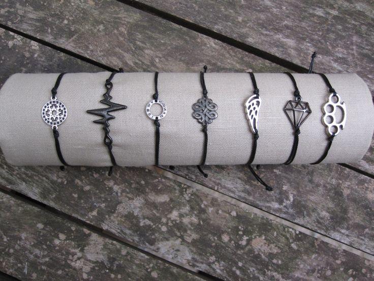 Macrame Friendship Bracelets by MykonosByBoni on Etsy
